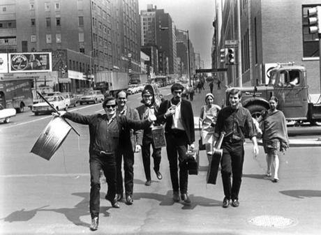 The band in New York City in 1964.